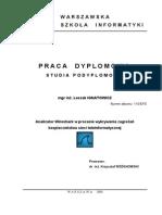 Analizator Wireshark L-Ignatowicz Prac. Dypl. WWSI 2008