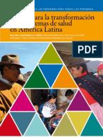 Investigación Revista 41. Claves para la transformación de los sistemas de salud en América Latina
