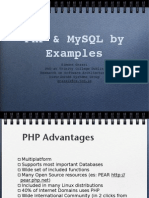 Php and Mysql Slides