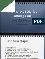 Php and Mysql Slides