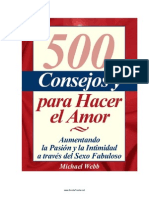 500 Ideas Para Hacer El Amor PDF