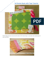 Accordion Fold Pocket Book With Tags Tutoria1