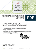 persuasive writing editing