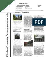 Kilkishen Church Restoration Newsletter