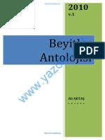 BeyitlerAntolojisi