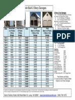 2 Story Garage Prices