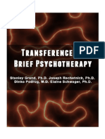 Transfer in Psychotherapy