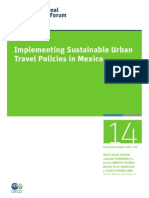 P-2 Implementing Sustainable Urban Travel Policies in Mexico