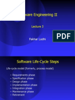 Software Engineering and Project Management 3