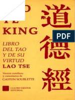 El libro del Tao,  Tao Te King, Gastón Soublette