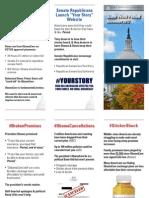 Senate Republican Conference State Work Period November 2013
