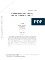Canonical Quantum Gravity and the Problem of Time