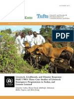 Livestock, Livelihoods, and Disaster Response