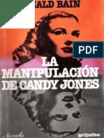 Donald Bain - La Manipulación de Candy Jones