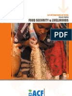Food Security and Livelihood Policy - 01.2009