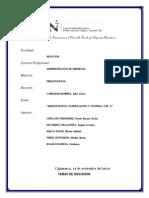 Cap. 2 Planificación Presupuestos Control