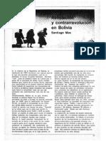 MAS Revolucion y Contrarrevolucion en Bolivia