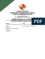 NT 33 - Coberturas de Sapé, Piaçava e Similares