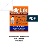 Professional Plot Outline WORKSHEETS