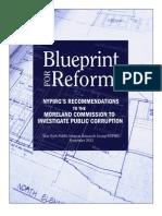 Blueprint to Moreland Commission