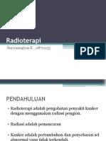 Radioterapi ppt