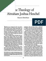 Theology of Joshua Heschel