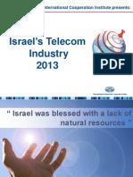 Israel's Telecommunication Industry 2013