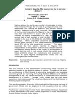 Anazodo Civil Service Reform (2)-Winter2012