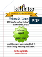 Bible Writer Volume 2 Preview
