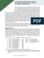 Factsheets on Phthalates