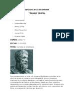 Informe de Literatura