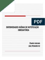 Enfermidades de suínos - Cláudio Andrade