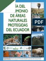 Ubicacion de Las Areas Protegidas Del Ecuador