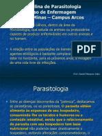 152297_Disciplina de Parasitologia - Introdução