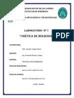 Informe 7 - Cinetica de Molienda
