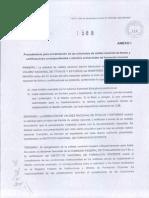 Res. MEN 1588.12 Anexo I - Requisitos y Procedimientos Para La Validez Nacional de Titulos