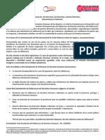"""PRONUNCIAMIENTO DE LA RED SALVADOREÑA DE DEFENSORAS DE DERECHOS HUMANOS CON MOTIVO DEL #25N """"DÍA INTERNACIONAL DE LA NO VIOLENCIA CONTRA LAS MUJERES"""""""