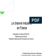 Chanvre Industriel en France