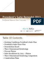 Presidents Suite Project Book
