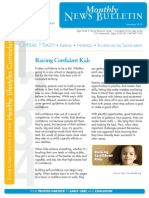 OHU Elgin CDC Newsletter Nov. 2013