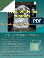 3. Medición de los cristales