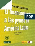 Financiamiento a Pymes