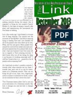 December 2013 LINK Newsletter