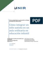 Cómo integrar un niño autista en un aula ordinaria en educación infantil