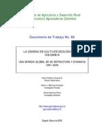 LA CADENA DE CULTIVOS ECOLÓGICOS EN COLOMBIA