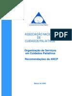 Recomendacoes Organizacao de Servicos Cuidados Paliativos