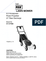 Craftsman Mower 917.377660