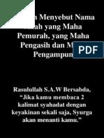 In the Name of Allah (Versi Indo)