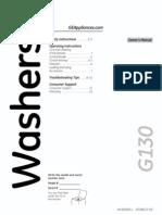 Washer GTWN3000MWS Manual