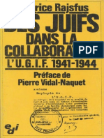 Maurice Rajsfus 1980 Des Juifs Dans La Collaboration